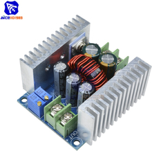 300W 20A DC Buck Converter Step Down Module Constant Current LED Driver Power Voltage Board Heat Sink Short Circuit Protection