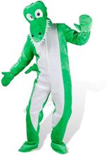 vidaXL Maskeraddräkt Krokodil M-L Unisex