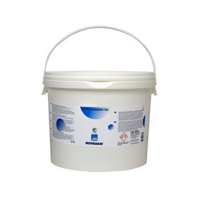 Maskinopvaskepulver, Novadan Bistro Powder 743, uden klor, 8 kg