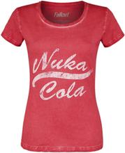 Fallout - Nuka Cola Vintage -T-skjorte - rød