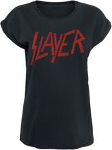 Slayer - Classic Logo -T-skjorte - svart