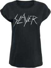 Slayer - Scratchy Logo -T-skjorte - svart