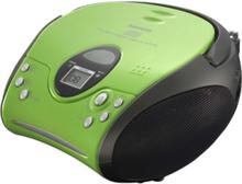FM Radio SCD-24 - boombox - CD - FM - Stereo - Grønn