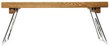 Oak Sängbricka med hopfällbara ben