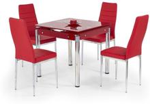 Jazmin utdragsbord - Röd