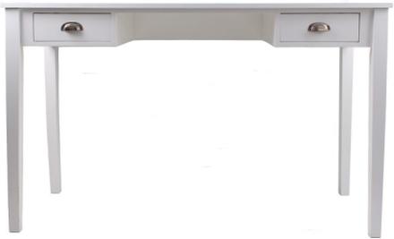 Skrivbord Max med 2 lådor - Vit