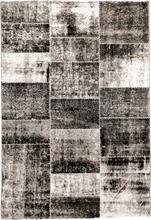 Maskinvävd matta - Manhattan - Patchwork mönster - 160x230 cm