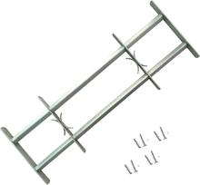 vidaXL Justerbart Fönstergaller för fönster med 2 stänger 500-650 mm