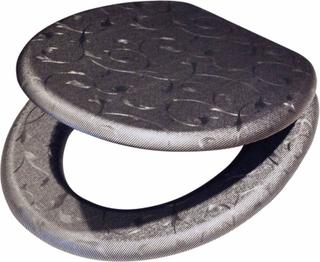 Tiger Toalettsits Glitter MDF grå 251361146