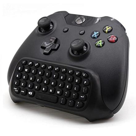 [REYTID] Xbox en 2.4G Mini trådløst tastatur ChatPad med 3,5 mm Jac...