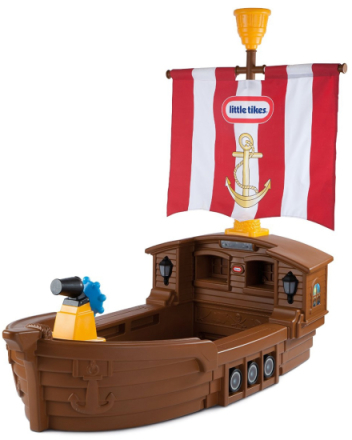 Piratskip Seng med Madrass - Little Tikes barneseng 625954