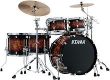 Tama Starclassic Walnut/Birch Drumset - Molten Brown Burst