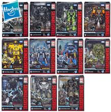 Hasbro Transformers Toys Studio Series 10~30 Deluxe Class Transformers Bumblebee Ratchet Sideswipe Rollbar Action Figure 12cm