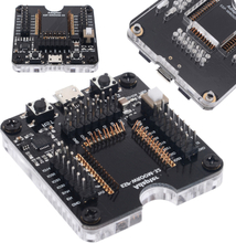 New Electrical Socket Programmer Tool ESP32 Adapter Socket For ESP-WROOM-32 Module Micro USB Type B Plug Testing Board