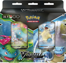 V Battle Deck Bundle - Blastoise V & Venusaur V - Sword & Shield Battle Styles