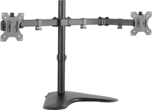 LogiLink Monitorställ/fot Dual 13-32