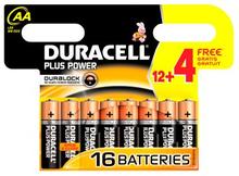 Duracell AA Duralock Plus Power 16 kpl