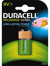 Duracell Recharge Ultra 9V 1 kpl