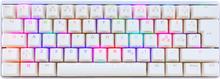 POK3R RGB Mekaniskt Tangentbord Vit [MX Nature White]