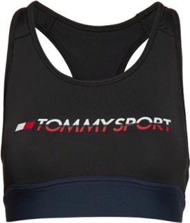Sports Bra Medium Tri Logo Lingerie Bras & Tops Sports Bras - ALL Sort Tommy Sport