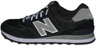New Balance Ny balans nya Balance 574 Classic svart mocka Trainer U...