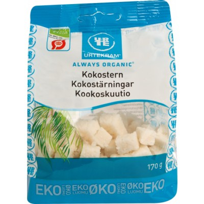 Urtekram Bio Kokos-Würfel 170 g