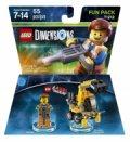 Lego Dimensions - Emmet Fra Lego Movie - Fun Pack - Gucca