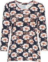 Shirt Long 3/4 Sleeve T-shirts & Tops Long-sleeved Multi/mønstret Betty Barclay