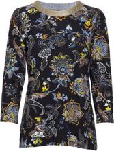 Shirt Short 3/4 Sleeve Bluse Langermet Blå Betty Barclay