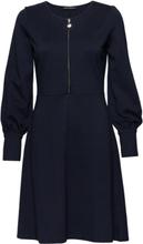 Dress Short 1/1 Sleeve Knelang Kjole Blå Betty Barclay