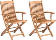 Puutarhatuoli 2 kpl puinen MAUI