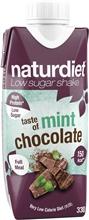 Naturdiet Shake 330 ml Mint Chocolate