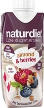 Naturdiet Shake 330 ml Almond Berries