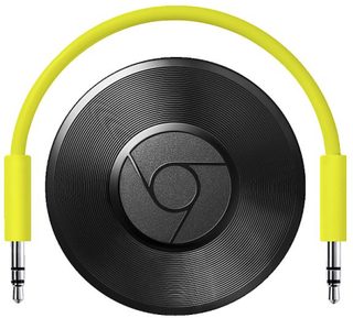 Mediaspelare Google Chromecast Audio