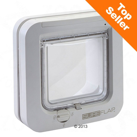 SureFlap Microchip katteluke - Hvit