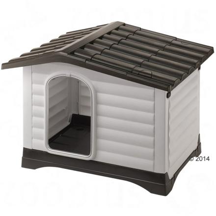 Ferplast Hundehus av plast Dogvilla - Dogvilla 90: L 88 x B 72 x H 65 cm