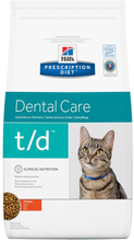 Hill's Prescription Diet Feline t/d Dental Care - kana - 5 kg