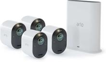 Trådlöst videoövervakningssystem Arlo Ultra - Startpaket med 4 kameror