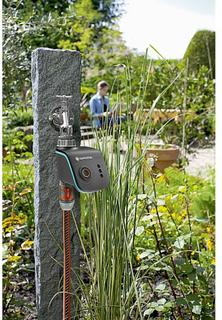 Vattenkontroll för bevattning, Gardena