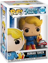 Fantastic Four - Human Torch Vinyl Figur 568 -Funko Pop! - multicolor