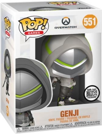 Overwatch - Genji vinylfigur 551 - Funko Pop! Figure - multicolor