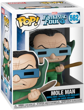 Fantastic Four - Mole Man Vinyl Figur 562 -Funko Pop! - multicolor