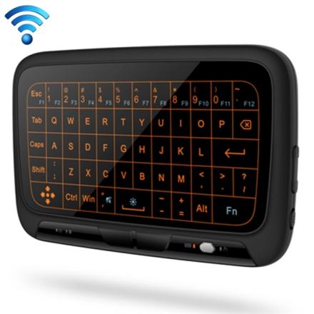 Langaton Mininäppäimistö Full Touchpad & Säädettävä valaistus