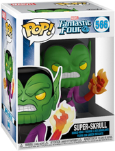 Fantastic Four - Super-Skrull Vinyl Figur 566 -Funko Pop! - multicolor