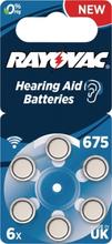 PR44 Batteri till hörapparater 6-Pack