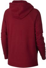Nike Sportswear Essential Women's Full-Zip Fleece Hoodie - Red