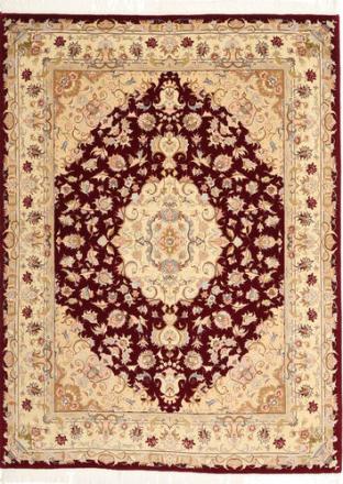 Tabriz 50 Raj teppe 152x203 Persisk Teppe