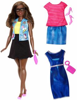 Barbie Fashionistas Dukke Emoji Fun DTF02
