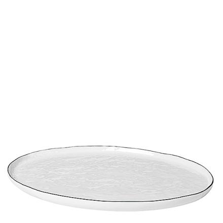Broste Copenhagen Salt Fat Ovalt L 38,5 cm