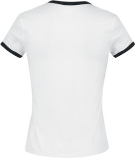 Vans - Vans Love Ringer -T-skjorte - hvit-svart